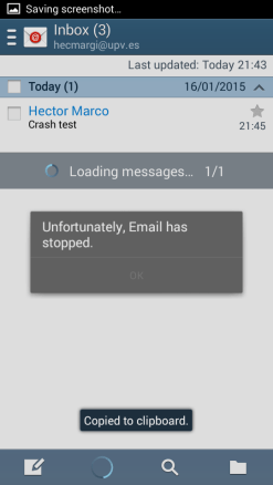 mobile Gmail app flaw