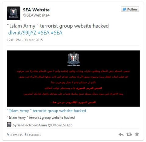 syrian electronic army tweet 2