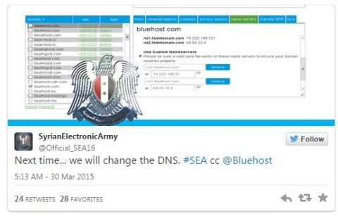 syrian electronic army tweet warns companies