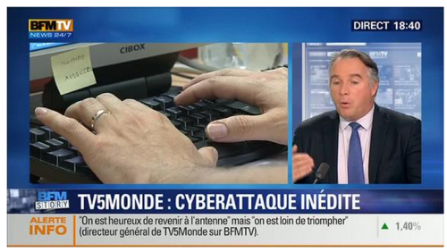 TV5Monde hacking password revealed 2