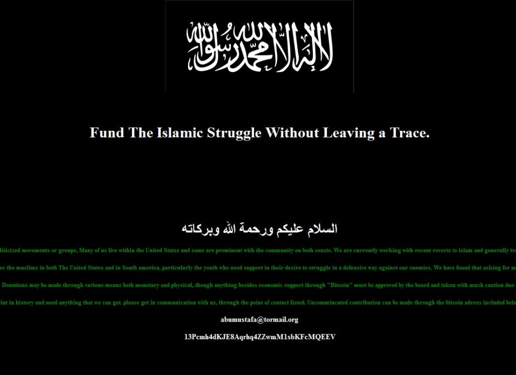 ISIS funds Bitcoin