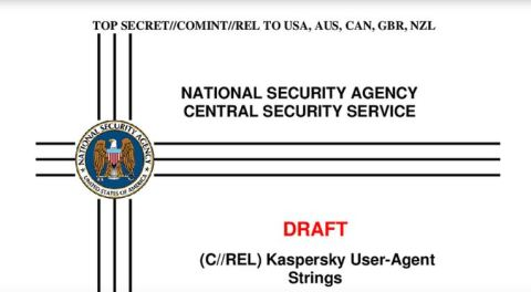 NSA spying on Kaspersky and other firms