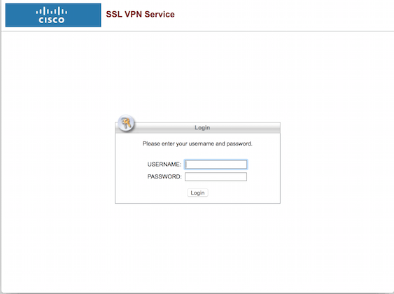 CISCO Clientless SSL VPN CISCO WebVPN