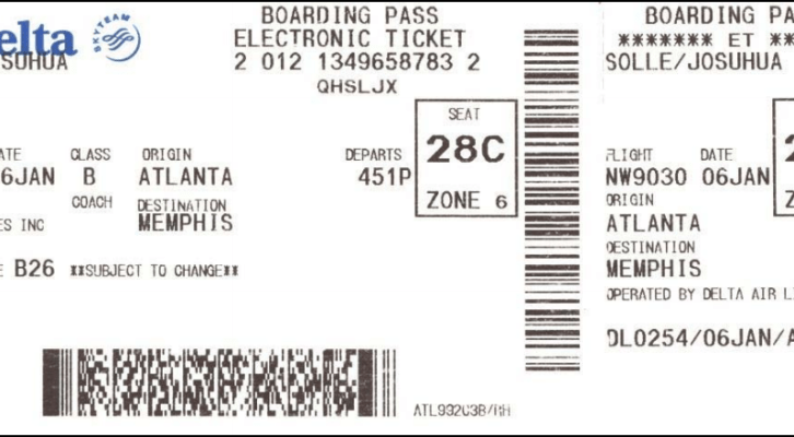 Your old Boarding Pass is a mine of personal