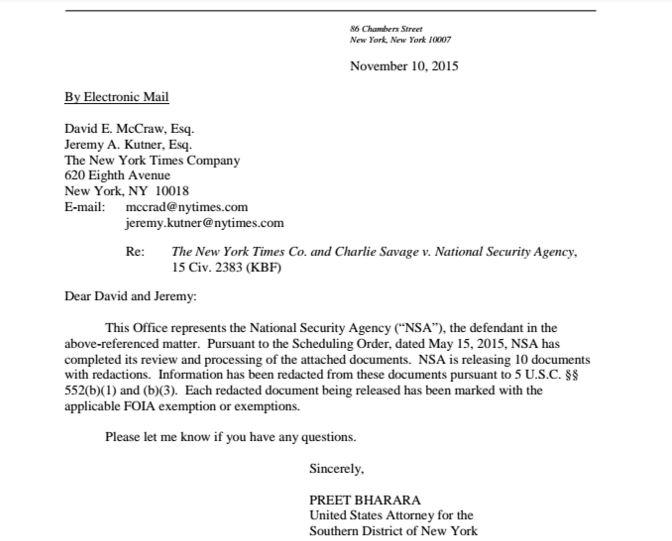 NSA email surveillance