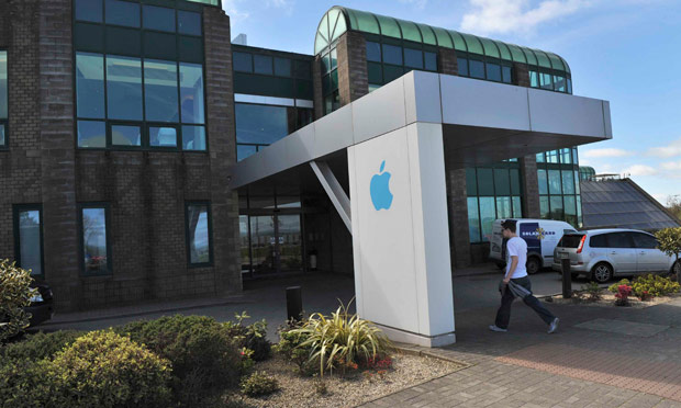 Apple employees at Operations International in Cork, Ireland