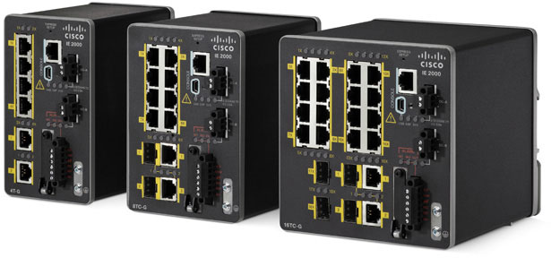 industrial switches Industrial Ethernet 2000 Series