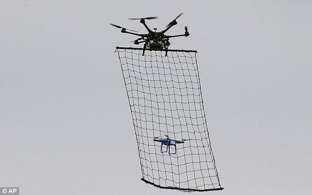 dronecatcher Japan