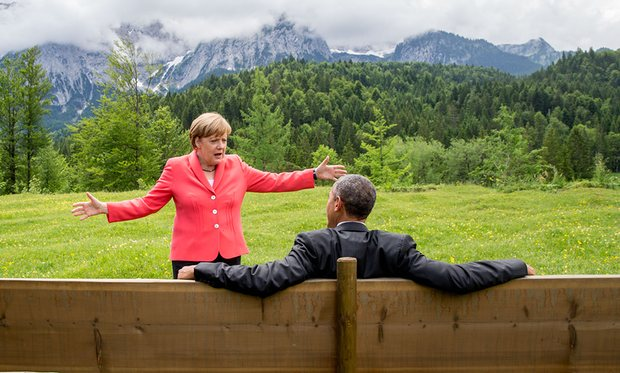 BND support to NSA spied Merkel