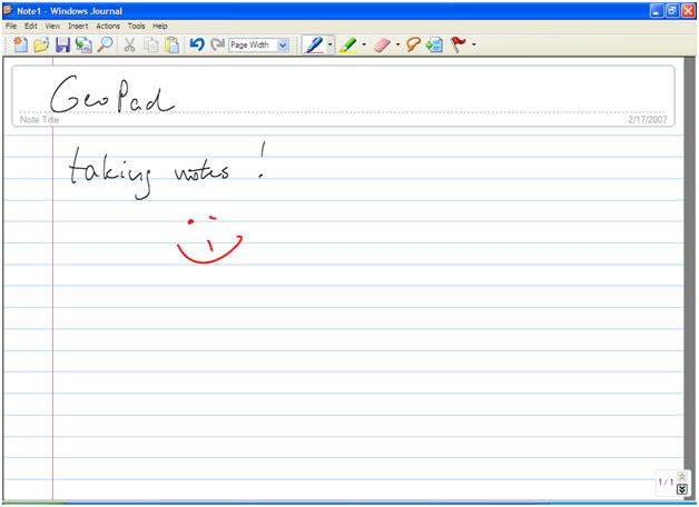 Windows Journal