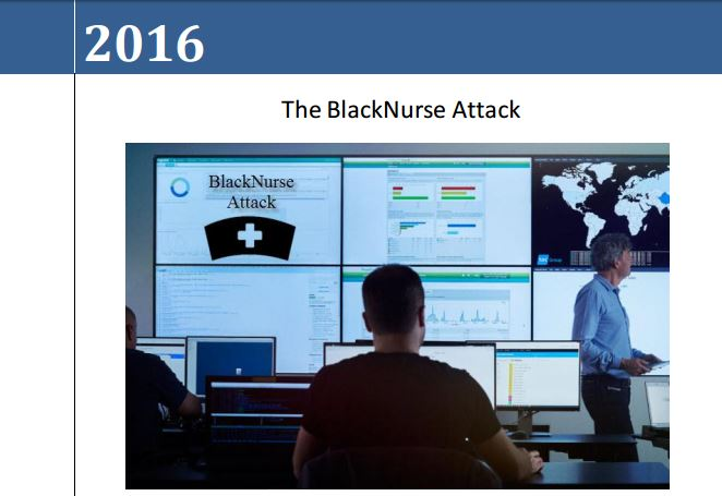 BlackNurse attack DDoS