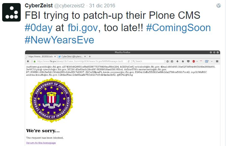 FBI hacked