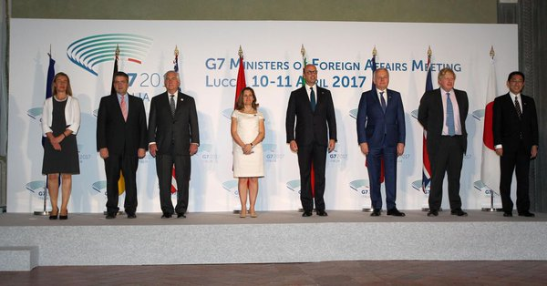 G7 DECLARATION ON RESPONSIBLE STATES BEHAVIOR IN CYBERSPACE