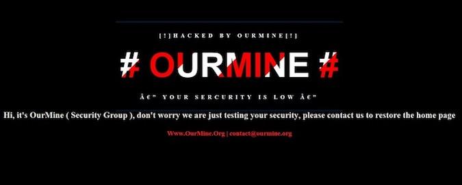 OurMine Unity Forum Defacement