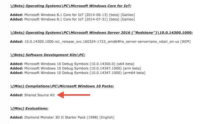 Windows 10 data leak