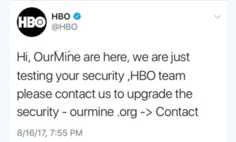 Game of Thrones HBO hacked