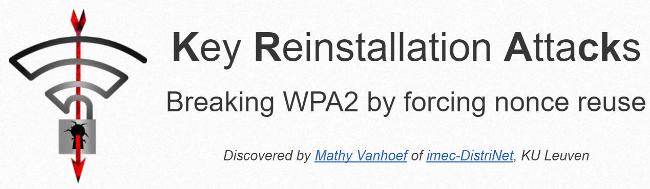 Krack attack WPA2