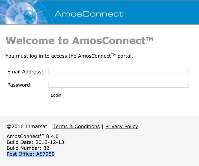 SATCOM AmosConnect 8 service