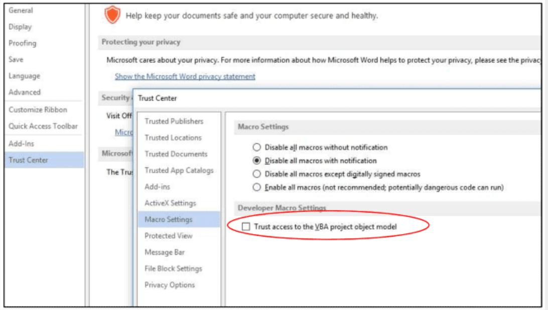Self-Replicating Malware Microsoft Trust Project Object