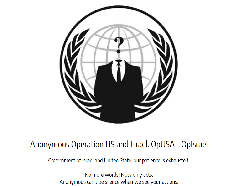 Anonymous OpIsrael Israeli-US-hacking-2