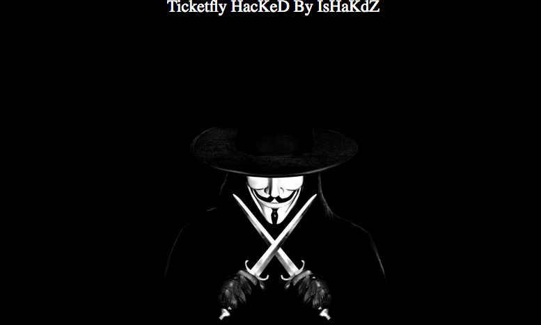 Ticketfly hacked