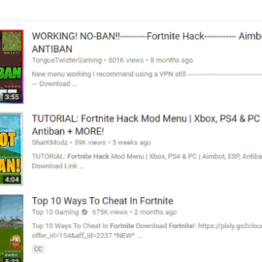 Beware     Adware already infected at least 78000 Fortnite