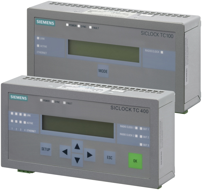 Siemens Central Plant Clocks siclock