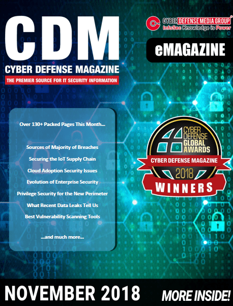 CDM CYBER DEFENSE MAGAZINE November