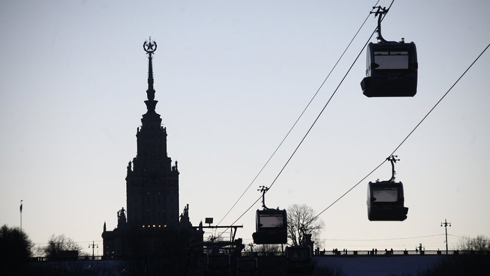 Cable Car Moscow