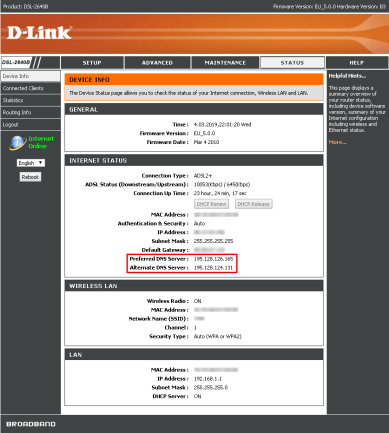 DNS hijacking compromised_d-link