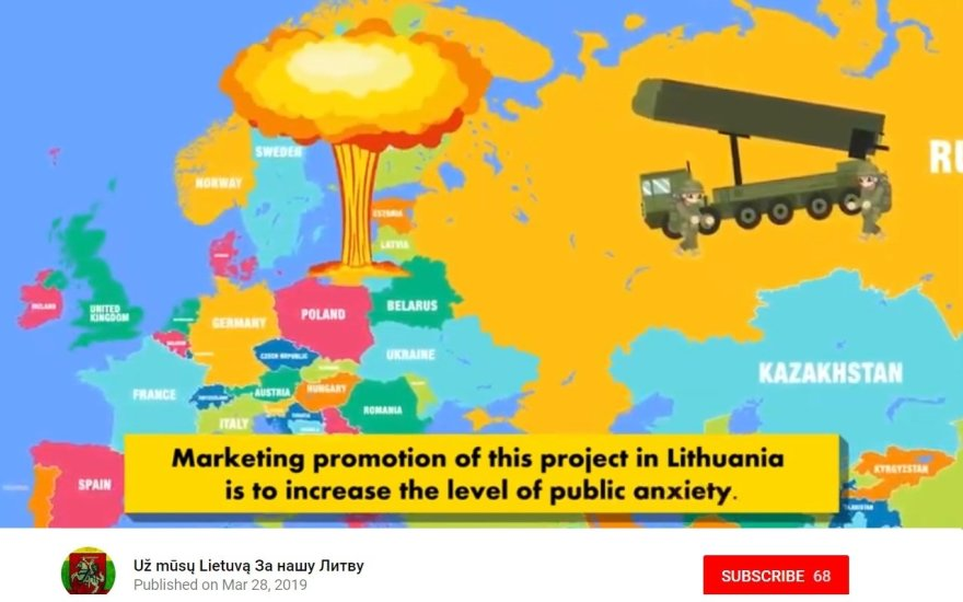 Lithuanian defense fake news