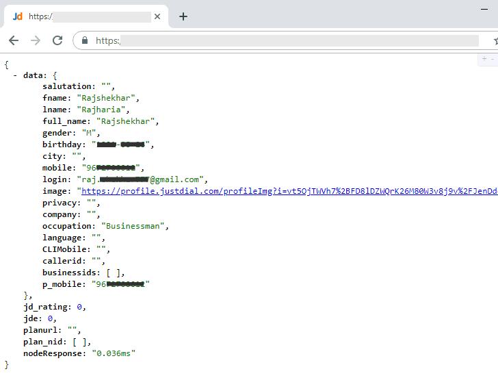 Justdial-data-breach-hacking