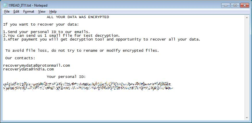 Victims of Planetary Ransomware can decrypt their files for