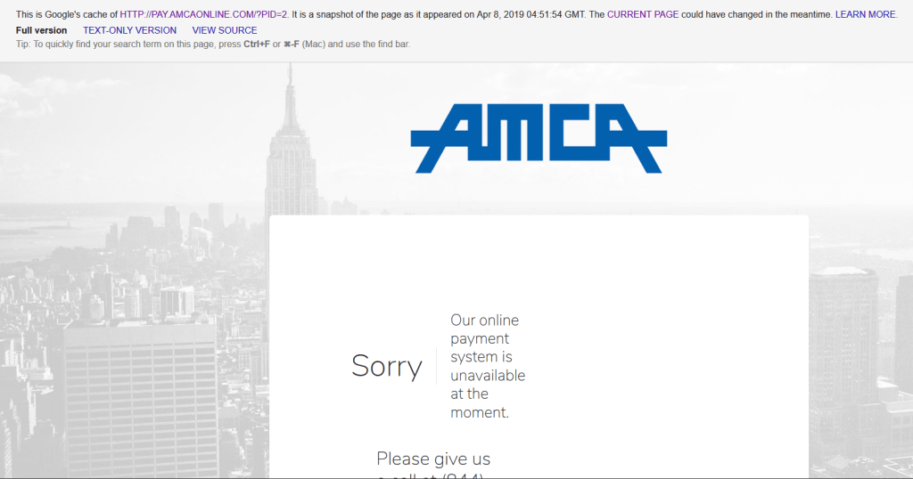 AMCA databreach