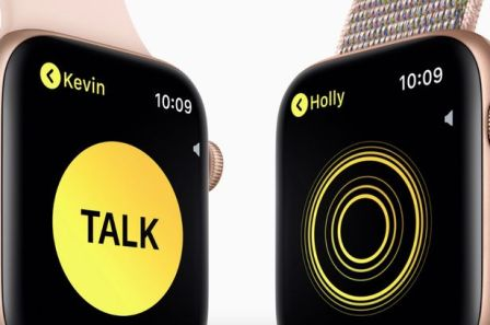 apple Walkie-Talkie app
