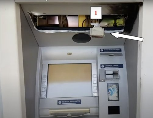 Black Box attack italian bank