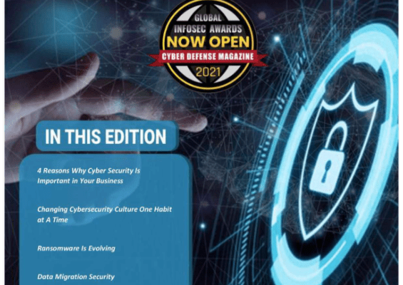 Cyber Defense Magazine November 2020