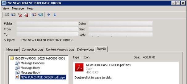 malspam icon files