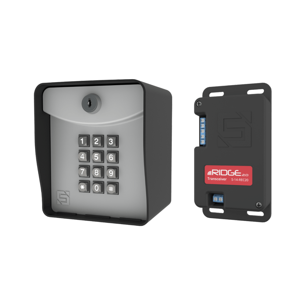 medium resolution of ridge 2 0 wireless keypad and transceiver