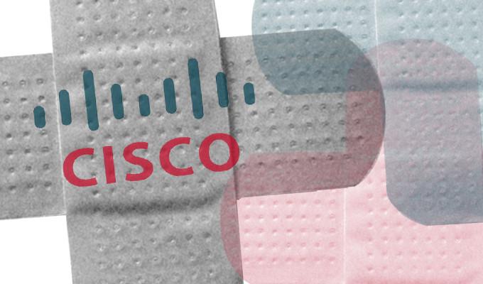 Cisco vá nhiều lỗi bảo mật rất nhiều sản phẩm