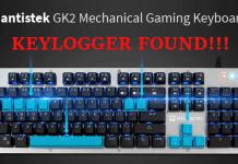 Phát hiện Key Logger trong bàn phím MantisTek gửi dữ liệu về Trung Quốc