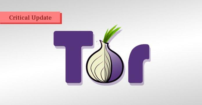 Phát hành Tor Browser vá lỗi