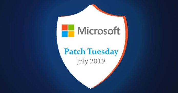 Bản vá bảo mật tháng 7 của Microsoft