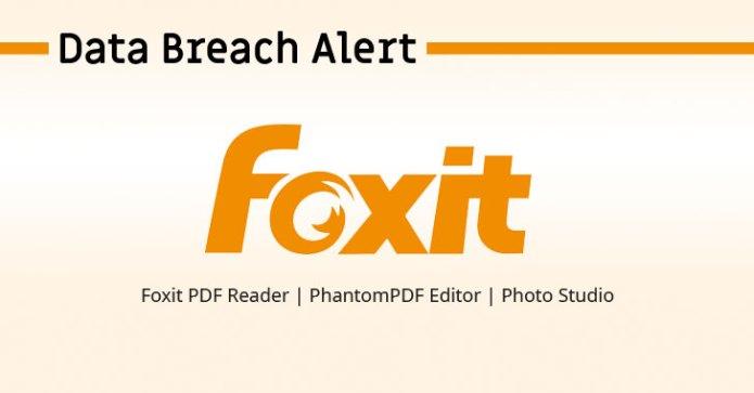 Foxit PDF Software bị vi phạm dữ liệu