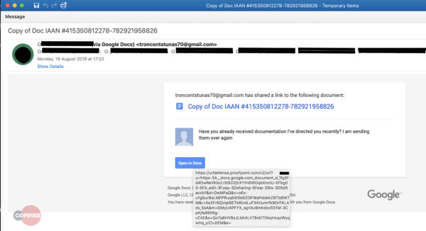Lừa đảo email trickbot