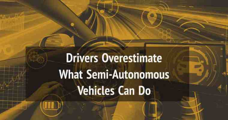 semiautonomous vehicles